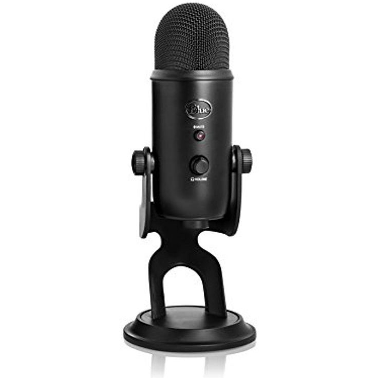 Blue Yeti USB Microphone 3 Condenser Capsules vocal Musical Instrument Podcast #BlueMicrophones