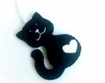 Ritenuto ornamento del gatto gattino assonnato per di grabacoffee