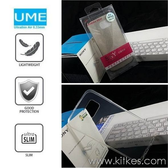 Ume UltraThin Air 0.3mm Soft Case Samsung Galaxy S6 - Rp 80.000 - kitkes.com