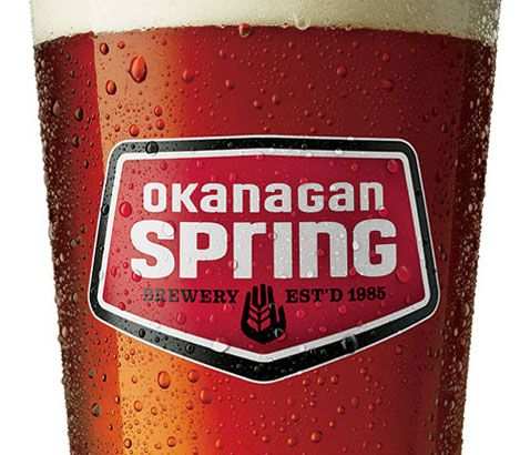 okanagan spring brewery, brewed locally in Vernon BC - get a pint at most local pubs and restaurants in #VernonBC.