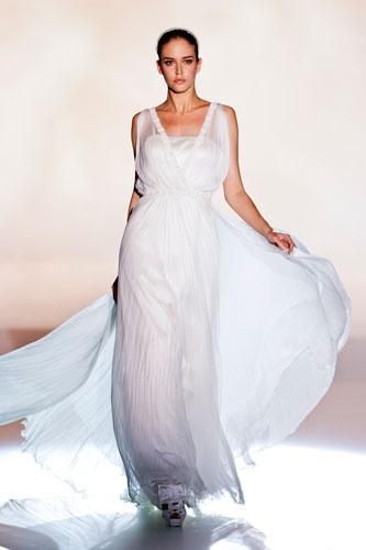 Rosa Clara at Barcelona bridal fashion week 2013  Photo: Imaxtree