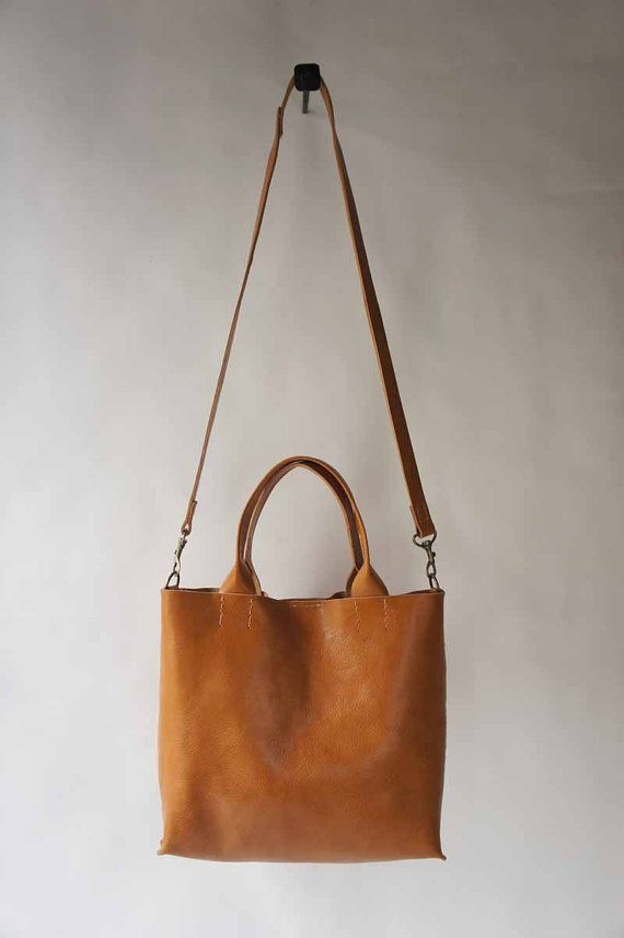 The Stella Bag - Italian Leather - Cognac