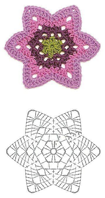 Flower pattern ✿⊱╮Teresa Restegui http://www.pinterest.com/teretegui/✿⊱╮