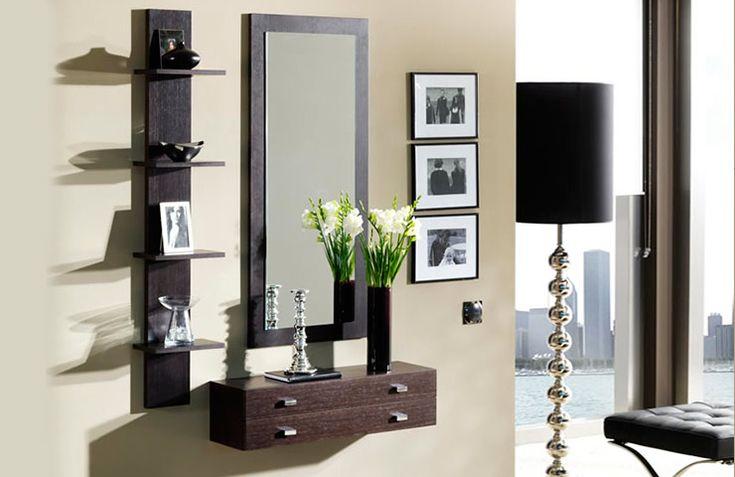 Consejos para decorar recibidores peque os ideas para for Espejos decorativos para pasillos