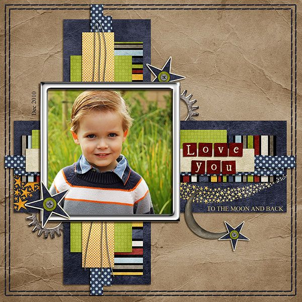 Libby Pritchett Designs: Tutorial - Creating a template from a layout
