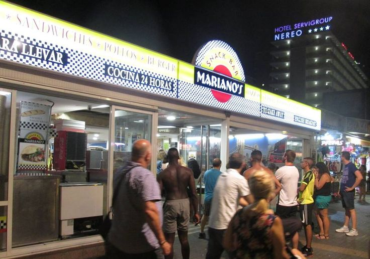 Mariano's snack bar, Benidorm, great place to eat