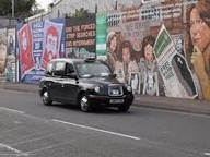 Insanely moving black cab tour of the republican and loyalist murals of Belfast