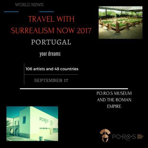 INTERNATIONAL SURREALISM NOW 2017 MULTIMEDIA POROS MUSEUM - One Billion Rising Revolution