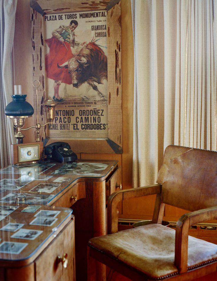 Hemingway's desk.