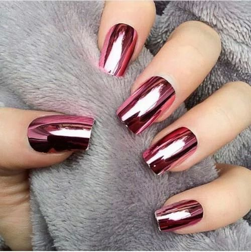 Metallic pink #loveit