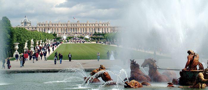 Paris to Versailles by train