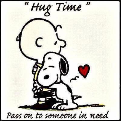 Hugs are wonderful things!  Everyone of us needs love and support!  ~Give Hugs Often~