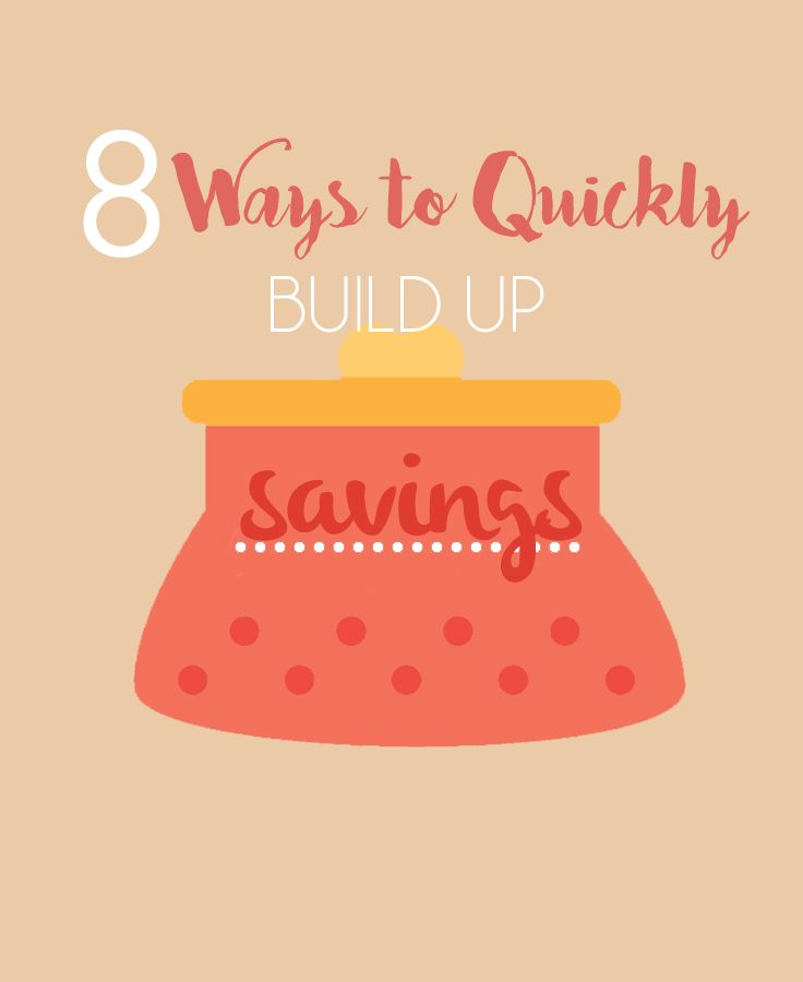 8 Ways to Quickly Build Up Savings to $1000 - L Bee and the Money Tree