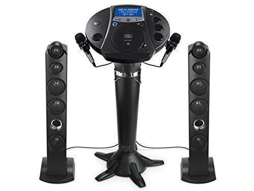 Singing Karaoke Machine Stand Tower Party Pedestal System Entertainment Speakers #TheSingingMachine