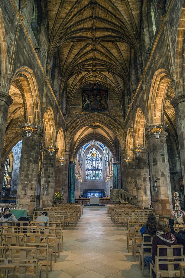 this is inside of St Giles cathedral. Just a beautiful place to walk around. They even let you take photos in here, so no need to sneak them. :D Discovered by Michael Schuier at St Giles' Cathedral, Edinburgh, Scotland