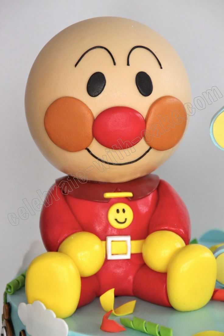 44 best anpanman images on pinterest pumpkins beautiful for Anpanman cake decoration