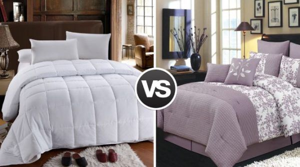 Difference Between Duvet Cover And Comforter And How To Choose The Best Of It Down Comforter Wholesale Bedding Duvet