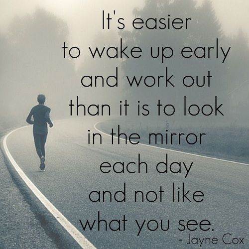 Wake Up Early Gym Quotes