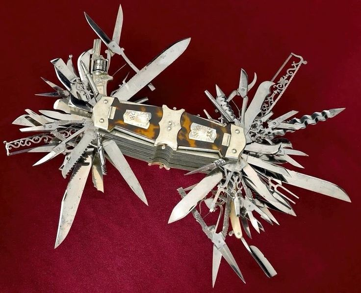 100 option multi tool from the 1800s : EDC