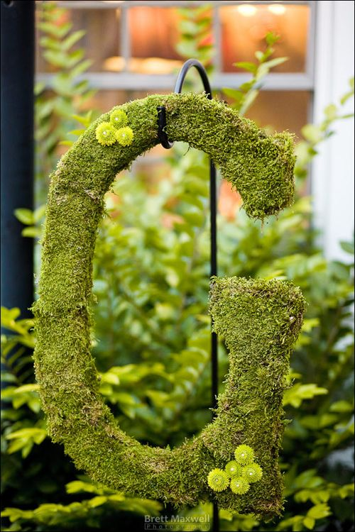 Shepherd's Hook. You can hang so many things in your garden like a lantern, flowers, potted plants, pails, signs... etc.