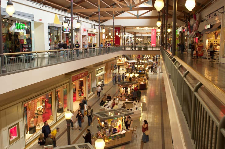 Westfield North County Fair Mall- Always upgrading, changing, and adding new shops and restaurants! Photo by: Kurt Lightfoot.