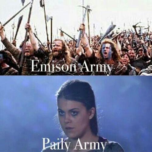Pretty Little Liars Emison vs paily