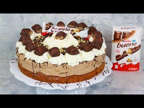 Choco-Fresh-Torte / No Bake Rezept mit Kinder Choco Fresh / weniger süß / Backen evasbackparty - YouTube