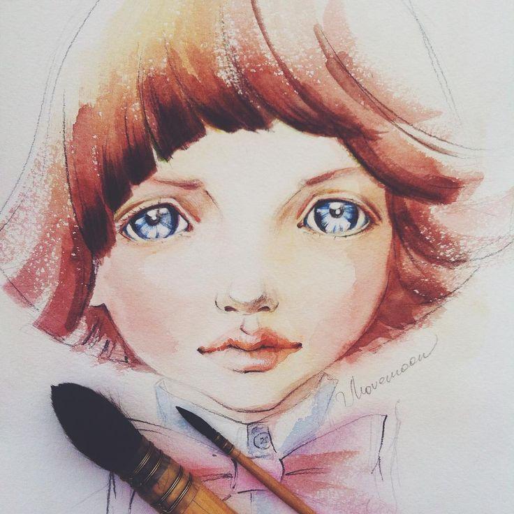 Этого маленького принца вы знаете, если читали Экзю..., ой, если внимательно смотрите по сторонам! В Москве эти глаза смотрят на вас с каждой, наверное, десятой рекламы :) @ekaterinashchukina83 да? Леня Щукин - суперстар! ⭐️ Фэшнмир без него просто обизличился бэ. #fashion #fashionillustration #draw #watercolor #иллюстрация #акварель #скетч #sketch А чуть позже выложу карандашного :) @topcreator #topcreator #illustration