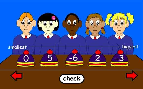 Ordering and Sequencing Numbers Games