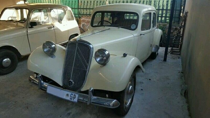 1954 Traction avant  Citroën Traction Avant One of the most beautiful and highly collectible vintage vehicles. Rust free & beautiful body, clean interior, good engine. The vehicle is registered, and licensed up to date. R 240000
