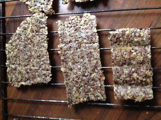 Een eco-mama vertelt...: ...over zelfgemaakte crackers