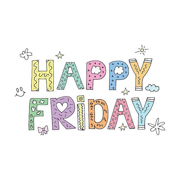 Happy Friday Clipart Good Morning Cards Happy Friday Happy Words