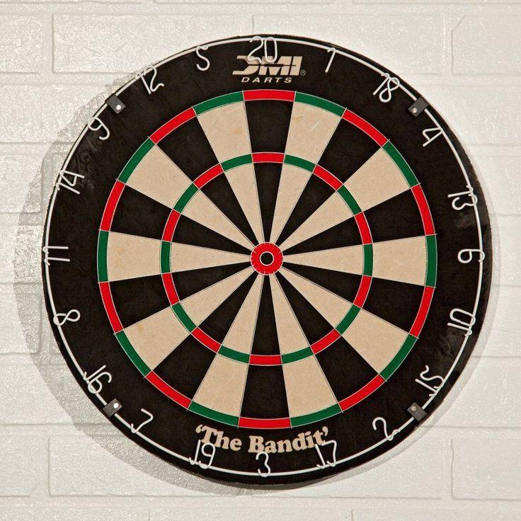 DMI Darts The Bandit Bristle Dart Board - 60002