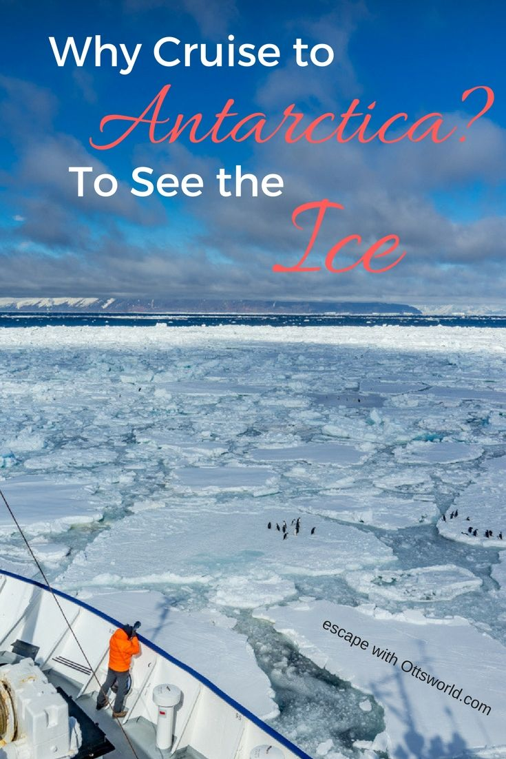 From sea ice, to pancake ice, to iceberg and the bergy bits. See what it's like to cruise through the world of ice in Antarctica and the Ross Sea.  via @Ottsworld