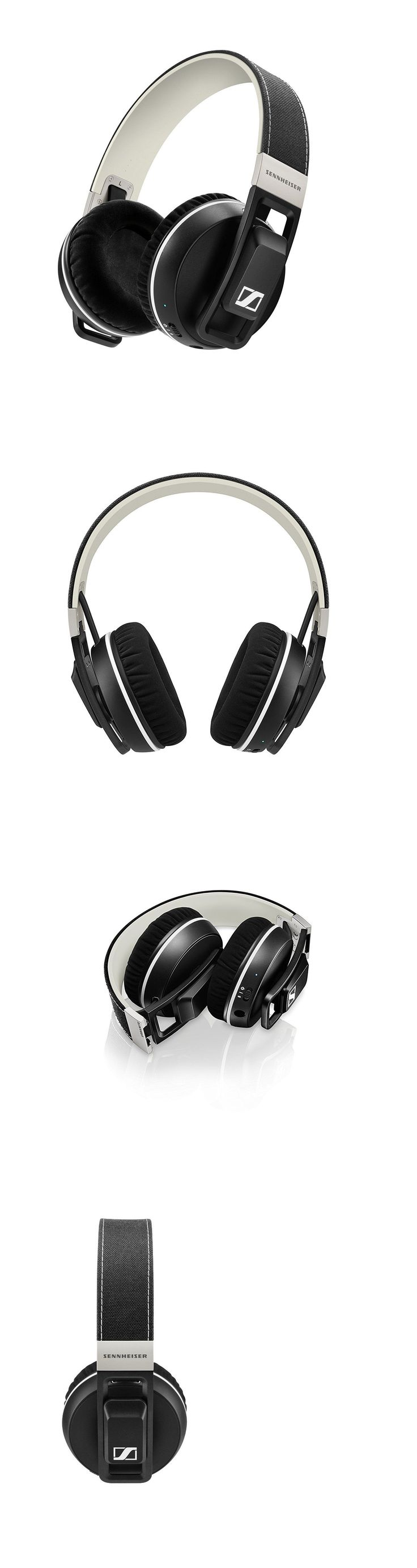 Headsets and Earpieces: Sennheiser Urbanite Xl Bluetooth Wireless Over-The-Ear Headphones Black New BUY IT NOW ONLY: $136.0