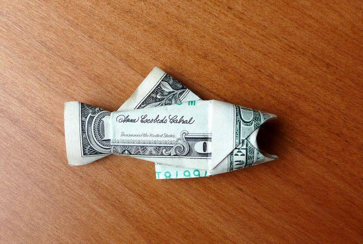 Dollar Bill Salmon by craigfoldsfives