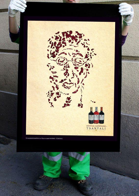 Tsantalis_Printing Ad by Nancy Skerletidou, via Behance