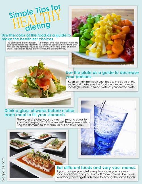 simple diet tips