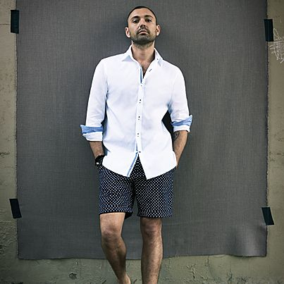 New for summer - Introducing the Evans & Rodrigo Shorts.   Shop our full short range here http://www.mjbale.com/clothing/shorts