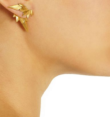 love these Maria Black earrings - party in the front AND in the back