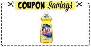 CVS: AJAX Dish Soap JUST $0.63! – Mama Bees Freebies