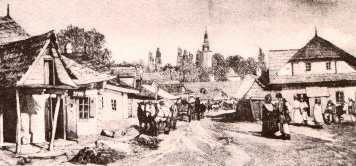 Przedmieścia Krakowa