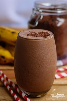 Smoothie de Chocolate e Banana