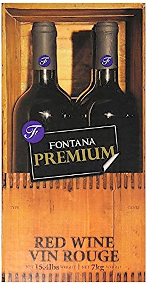 Fontana Wine Kits - 28 Days Wine Making Kits Made Simple Premium Cabernet Sauvig All grape juice concentrates are sterilized and asceptically packaged Requires fermentation equipment(not included) Makes 6 gallons (23 lt.) of triple blend finest quality varietal wine or 30 x 750 ml Bottles All the aromas are completely natural no artificial flavors added 2014 Wine Kit of the Year under 6 litres Fontana Wine Kits - 28 Days Wine Making Kits Made Simple (Premium Cabernet Sauvi Fontana 4 Week (28…