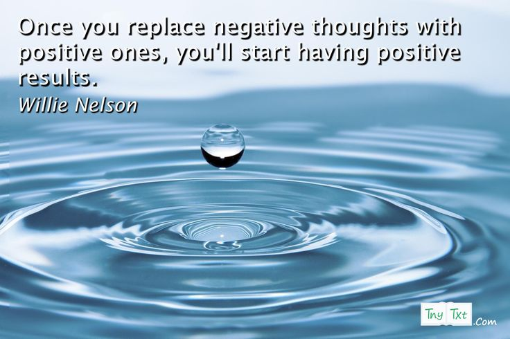 Once you replace negative thoughts with positive ones, you'll start having positive results. - Willie Nelson #tnytxt #quotes #positive #quoteoftheday