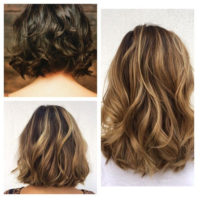 Curto , médio ou longo , pode ser na nuca, na parte alta ou baixa do ombro , a escolha depende da estatura e largura das costas . #hairstyle  #cabelosmédios