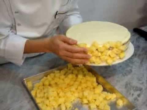 Torta clásica italiana, se suele preparar y regalar para el Dia de la mujer.