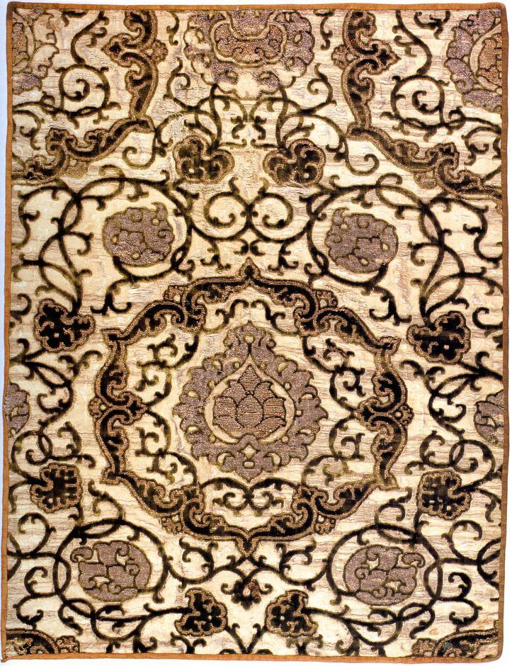 Italian Fabric Swatch  Civic Museum of Turin