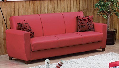 BEYAN Dallas 2016 Collection Modern Convertible Folding Sofa Bed with Storage Space Includes 2 Pillows Red https://swivelreclinerchairreview.info/beyan-dallas-2016-collection-modern-convertible-folding-sofa-bed-with-storage-space-includes-2-pillows-red/