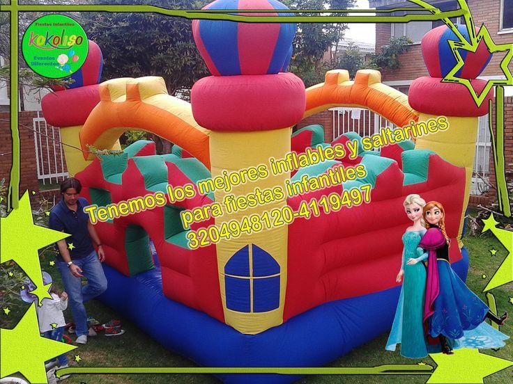 Saltarines para fiestas infantiles a excelentes precios  llámanos y disfruta de una fiesta inolvidable reserva tu evento aquí 3204948120-4119497